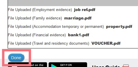 загрузка документов на визу в Великобританию